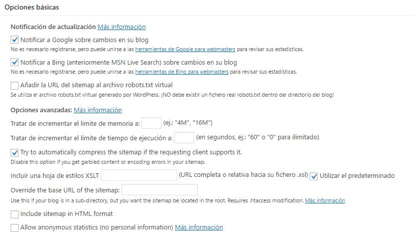 configurar-xml-sitemaps