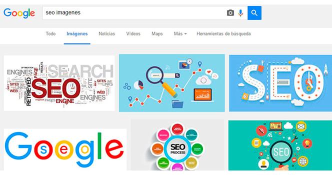 Posicionar imagenes en Google