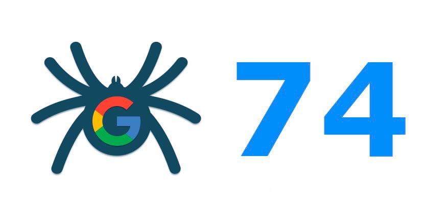 Actualización de Chrome 41 a 74, WRS y Javascript en Google 1